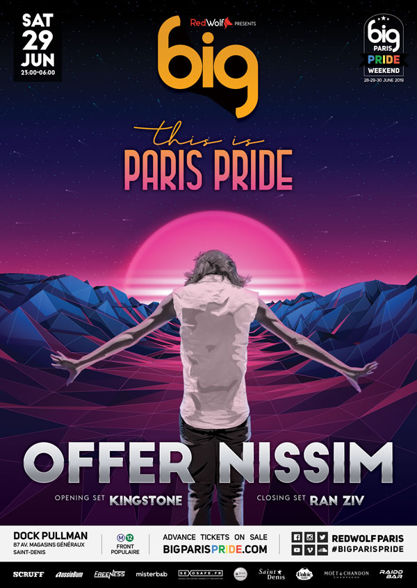 BIG : THIS IS PARIS PRIDE with OFFER NISSIM